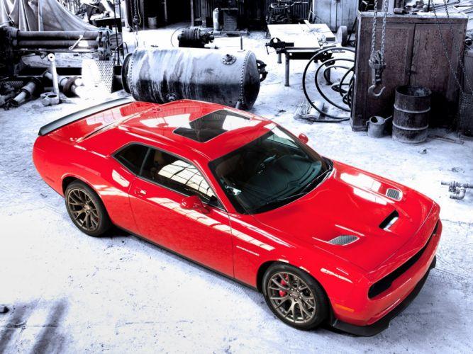 2015 Dodge Challenger SRT Supercharged (L-C) muscle e wallpaper