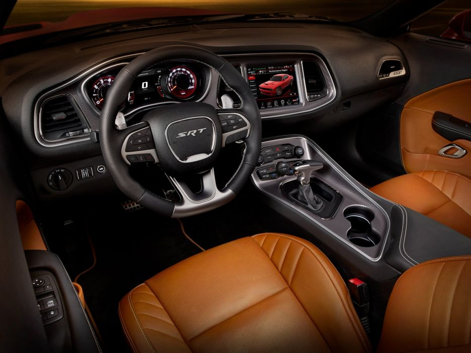 2015 Dodge Challenger SRT Supercharged (L-C) muscle interior     f wallpaper
