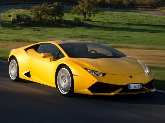 2015 Lamborghini Huracan LP 610-4 supercar hd wallpaper
