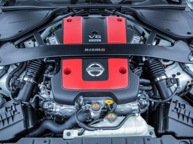 2015 Nissan 370Z Nismo US-spec engine g wallpaper
