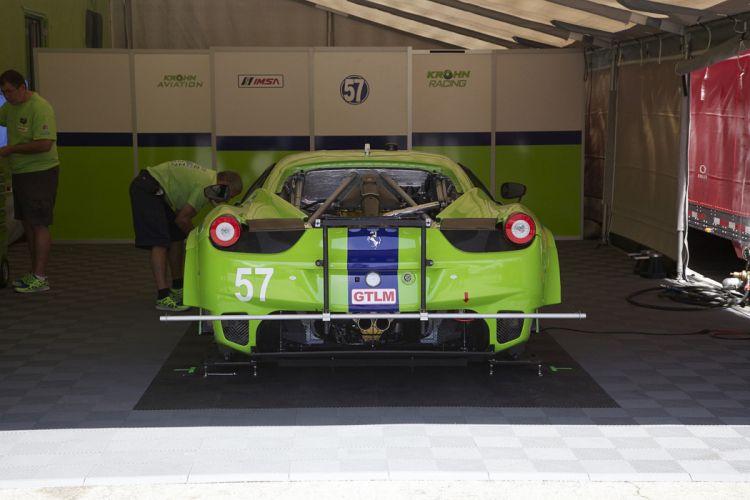 Race Car Supercar Racing Krohn Racing Ferrari 458 GTC 3 4000x2667 wallpaper