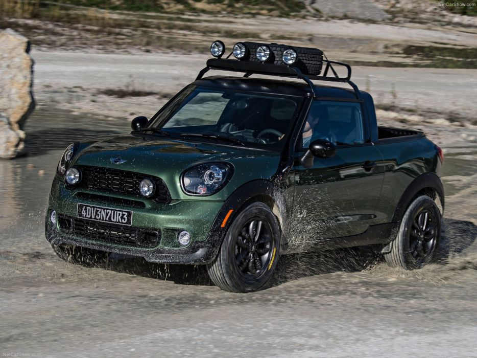 Mini Paceman Adventure Concept 2014 Car 4x4 Off-Road 4000x3000 wallpaper