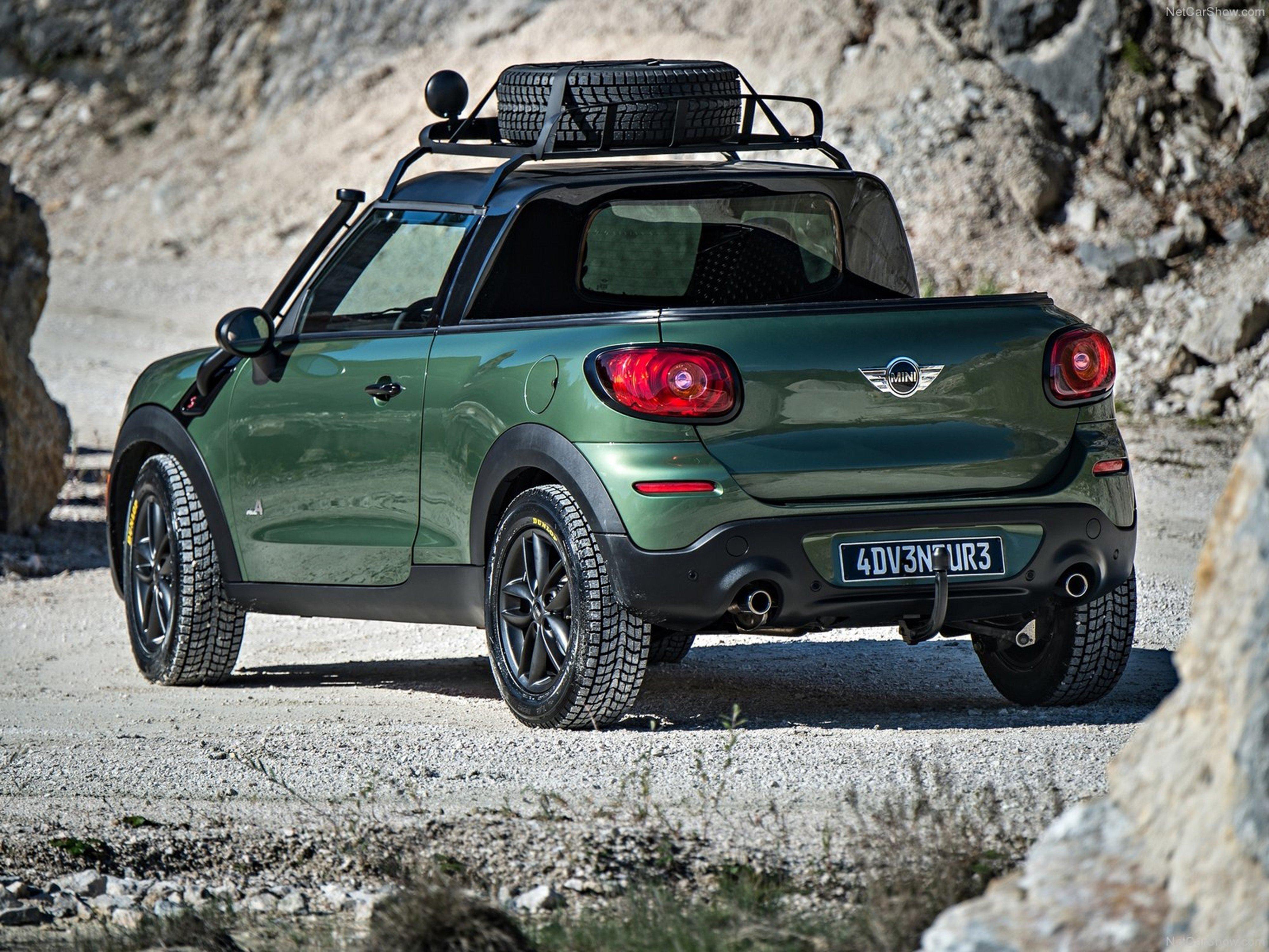Adventure Car: Mini Paceman Adventure Concept 2014 Car 4x4 Off-Road