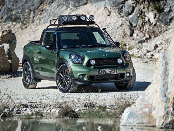 Mini Paceman Adventure Concept 2014 Car 4x4 Off-Road 4000x3000 wallpaper