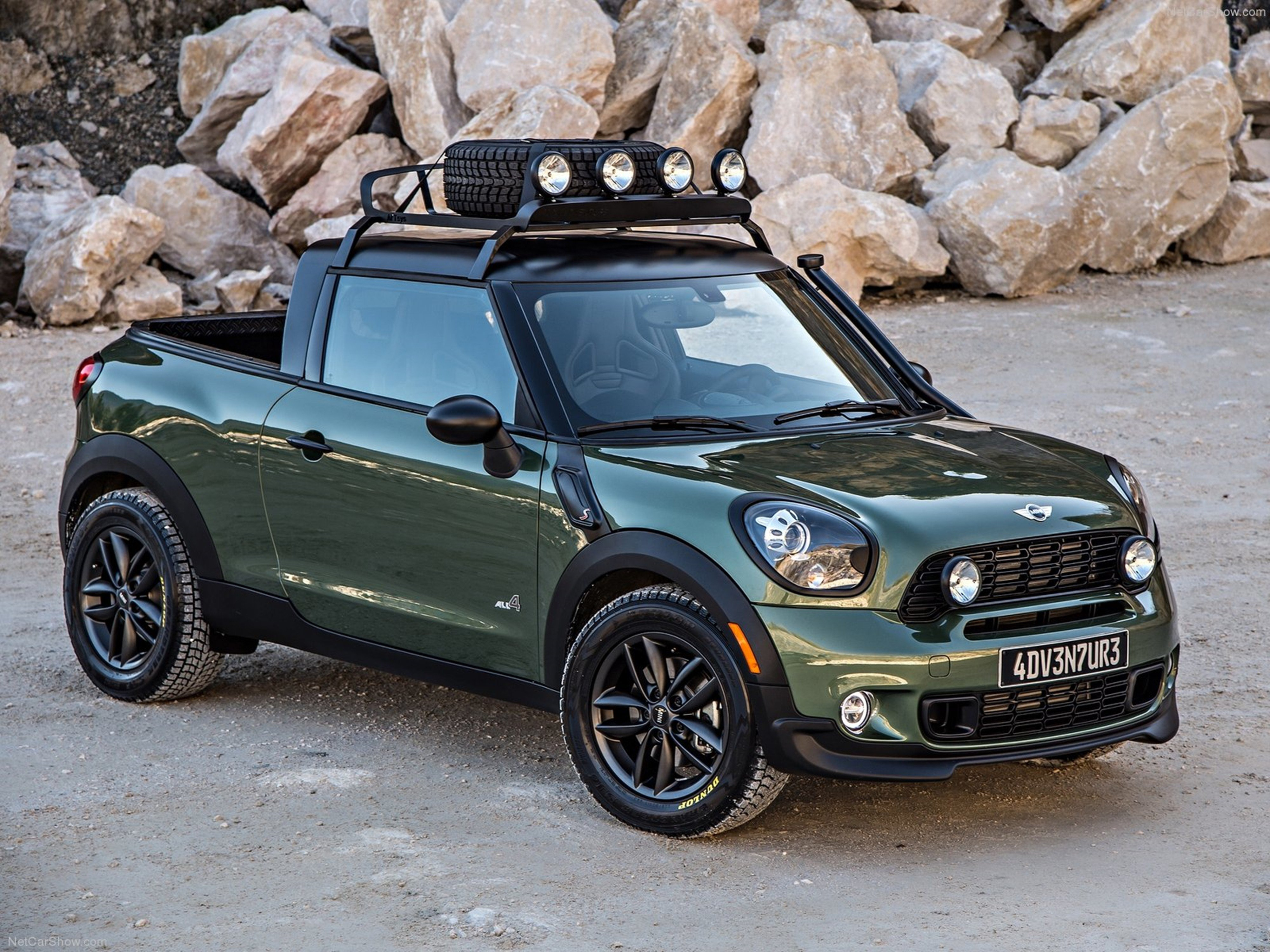 mini paceman adventure concept 2014 car 4x4 off road. Black Bedroom Furniture Sets. Home Design Ideas