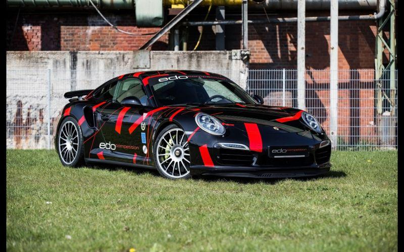 2014 Edo Competition Porsche 991 Turbo-S Car Race Germany Racing 4000x2500 wallpaper