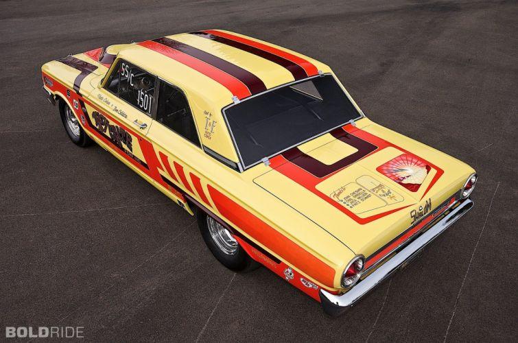 1964 Ford CRAZY NATE Thunderbolt drag racing race hot rod rods (1) wallpaper