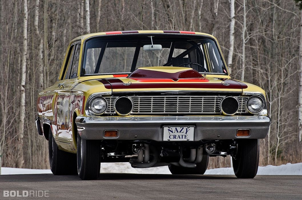 1964 Ford CRAZY NATE Thunderbolt drag racing race hot rod rods (11) wallpaper