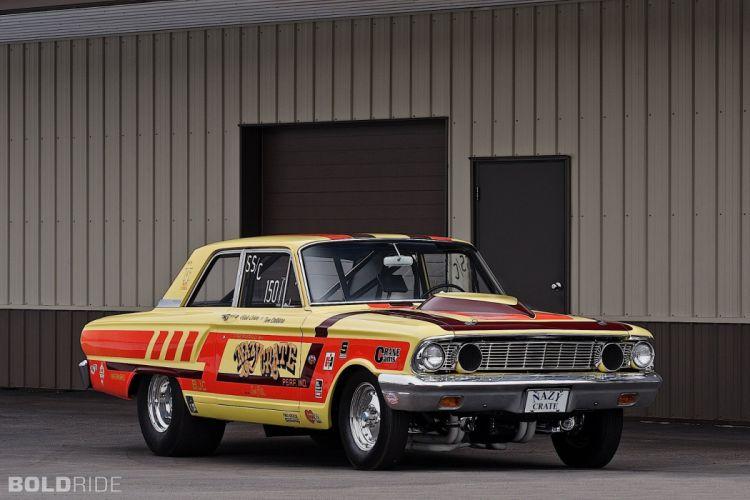 1964 Ford CRAZY NATE Thunderbolt drag racing race hot rod rods (14) wallpaper