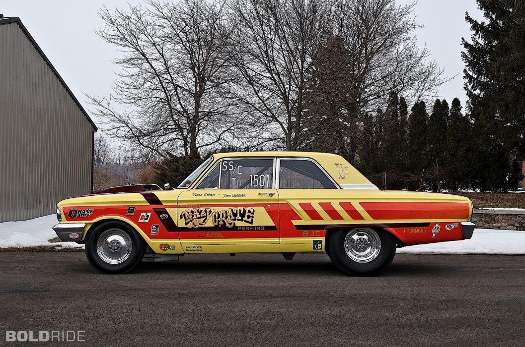 1964 Ford CRAZY NATE Thunderbolt drag racing race hot rod rods (16) wallpaper