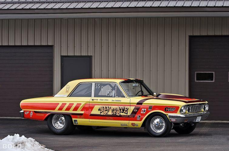 1964 Ford CRAZY NATE Thunderbolt drag racing race hot rod rods (15) wallpaper