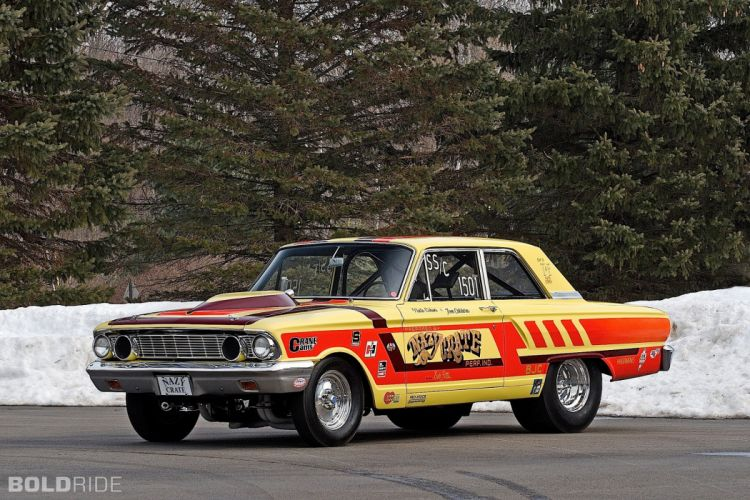 1964 Ford CRAZY NATE Thunderbolt drag racing race hot rod rods (13) wallpaper