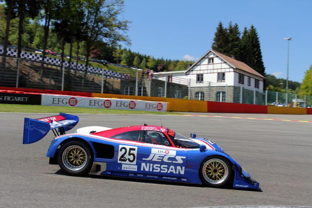 Race Car Racing Supercar Le-Mans Japan 1990 Nissan R90CK 4 4000x2667 wallpaper