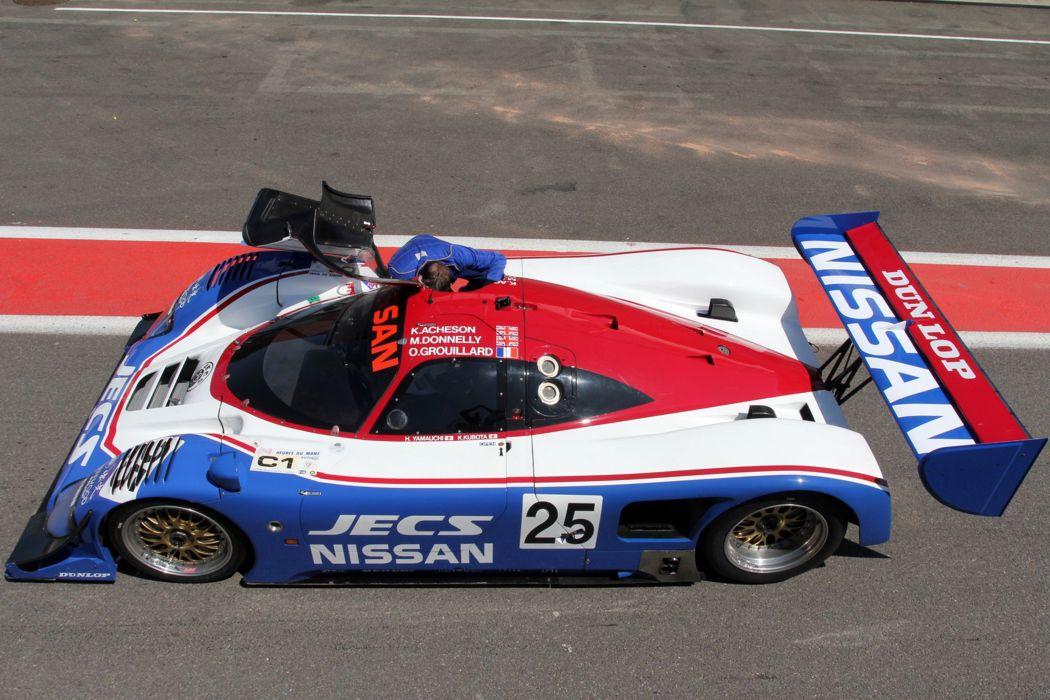 Race Car Racing Supercar Le-Mans Japan 1990 Nissan R90CK 3 4000x2667 wallpaper