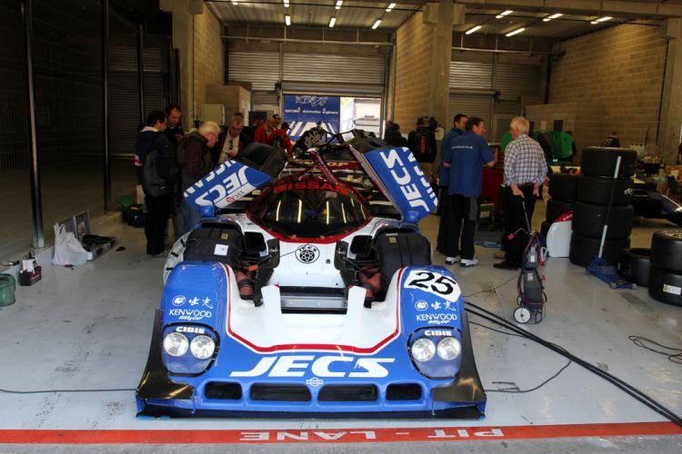 Race Car Racing Supercar Le-Mans Japan 1990 Nissan R90CK 6 4000x2667 wallpaper