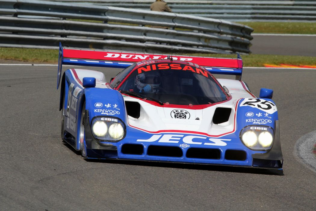 Race Car Racing Supercar Le-Mans Japan 1990 Nissan R90CK 4000x2667 wallpaper