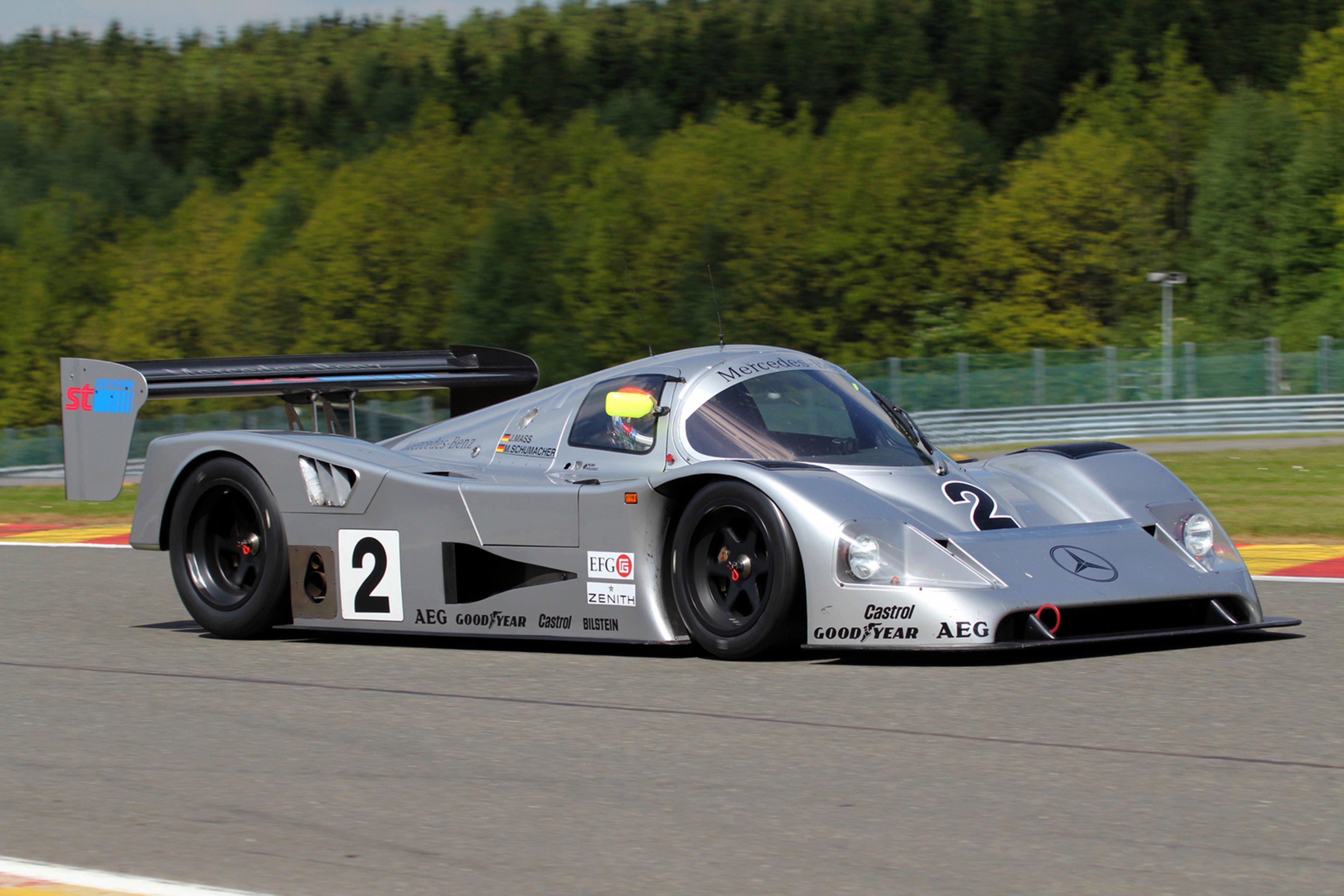 Race car racing supercar le mans germany 1990 sauber for Mercedes benz race car