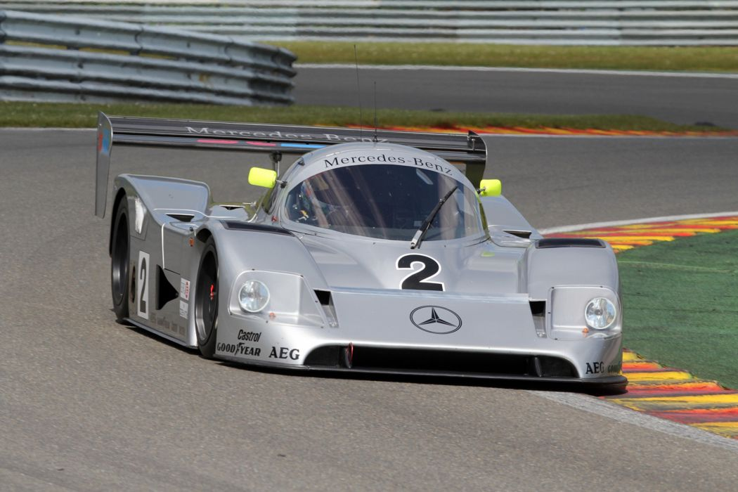 Race Car Racing Supercar Le-Mans Germany 1990 Sauber Mercedes-Benz