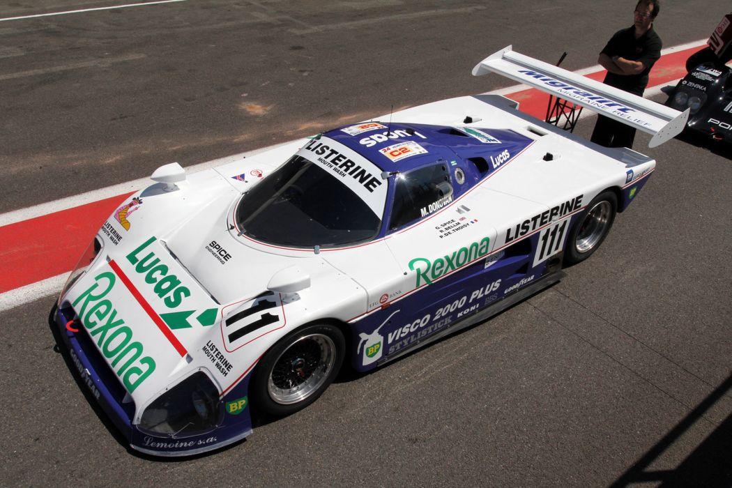 Race Car Racing Supercar Le-Mans 1988 Spice SE88 8 4000x2667 wallpaper