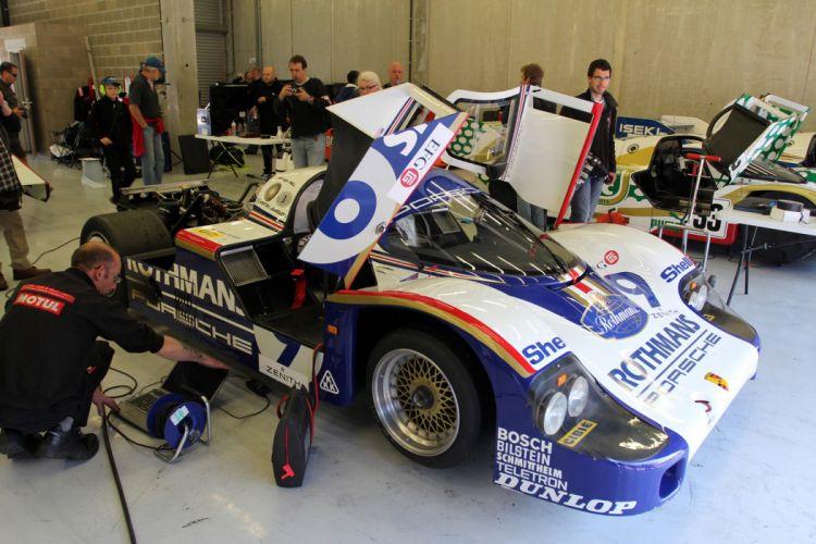 Race Car Racing Supercar Le-Mans Germany 1982 Porsche 956C 4 4000x2667 wallpaper