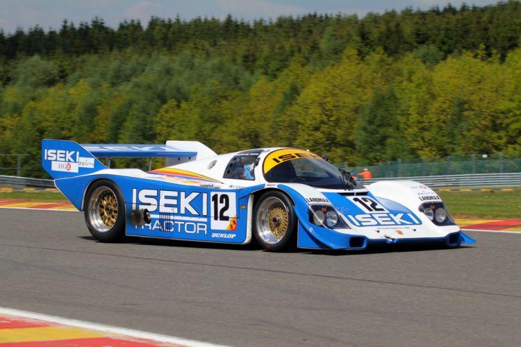 Race Car Racing Supercar Le-Mans Germany 1984 Porsche 956C 2 4000x2667 wallpaper