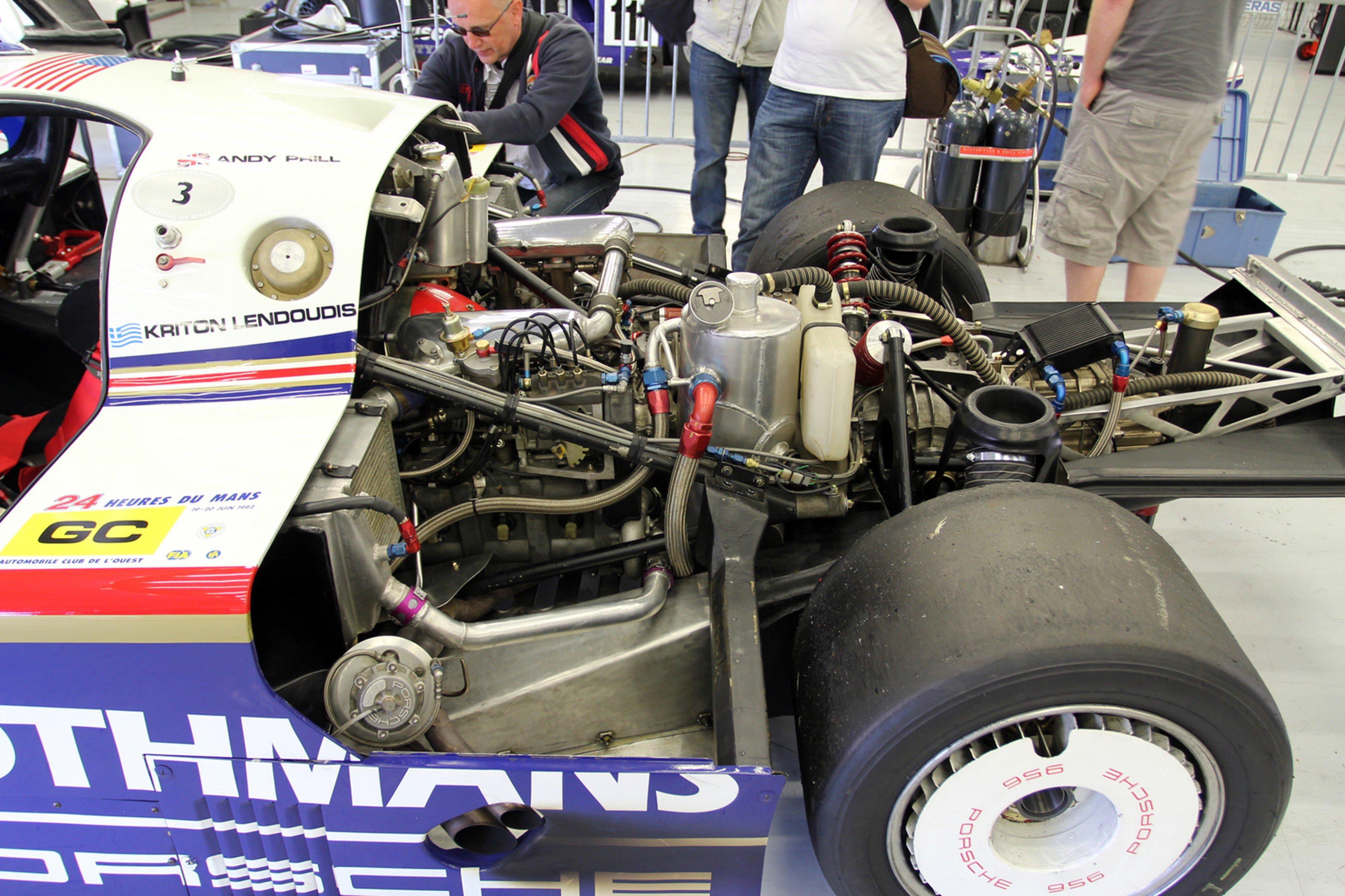 Race Car Racing Supercar Le Mans Germany 1982 Porsche 956c