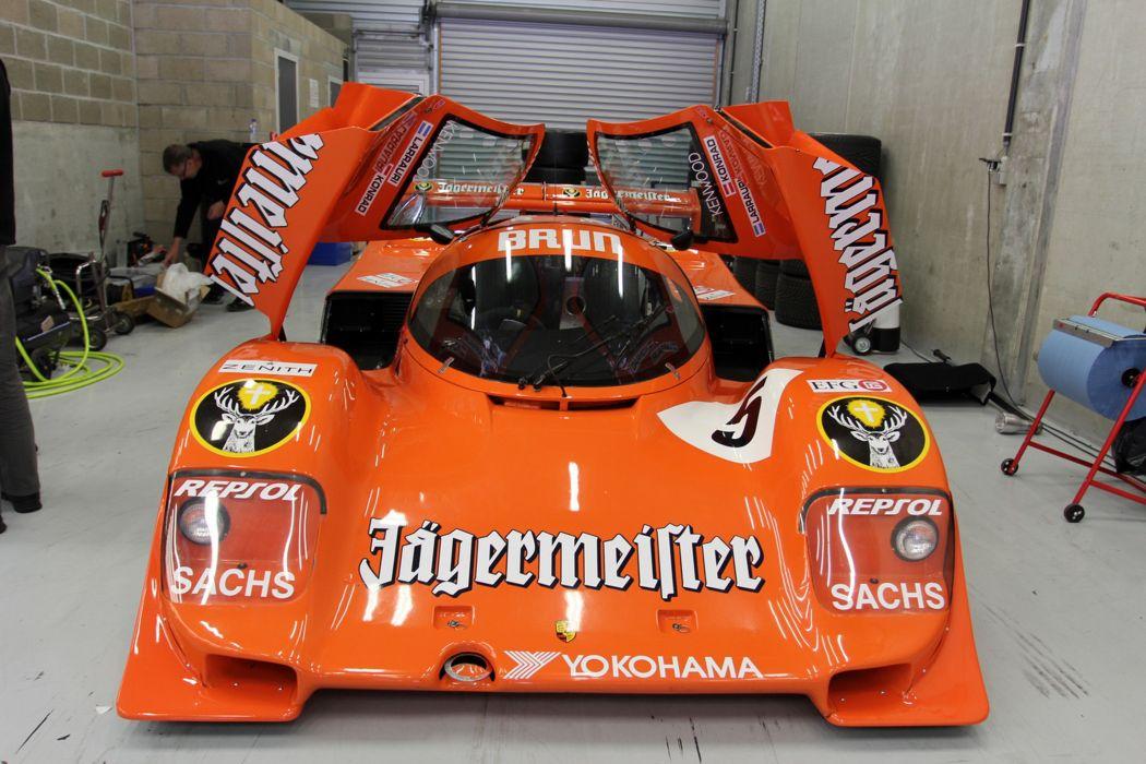 Race Car Racing Supercar Le-Mans Germany 1988 Porsche 962 5 4000x2667 wallpaper