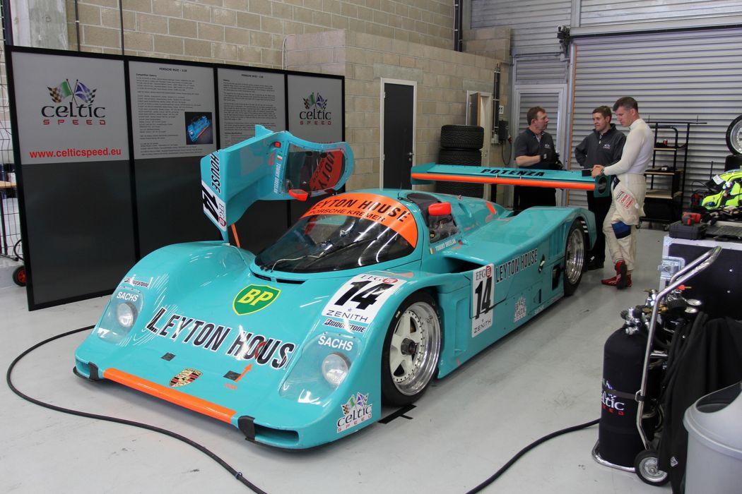 Race Car Racing Supercar Le-Mans Germany 1988 Porsche 962 Leyton-House 2 4000x2667 wallpaper