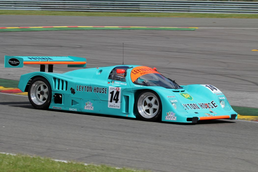 Race Car Racing Supercar Le-Mans Germany 1988 Porsche 962 Leyton-House 4000x2667 wallpaper