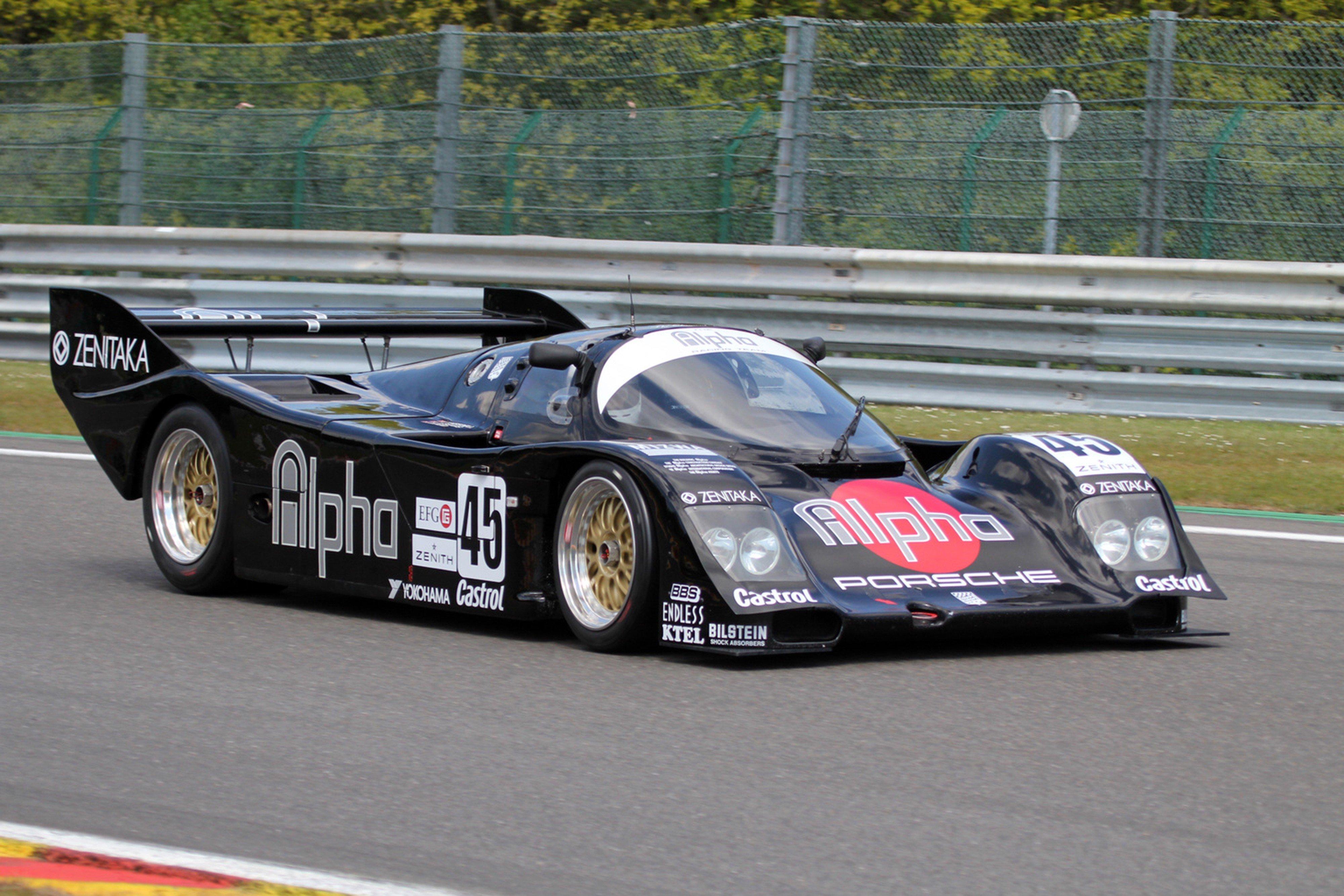 Race Car Racing Supercar Le Mans Germany 1990 Porsche 962c