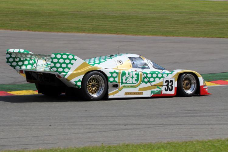 Race Car Racing Supercar Le-Mans Germany 1990 Porsche 962C 6 4000x2667 wallpaper