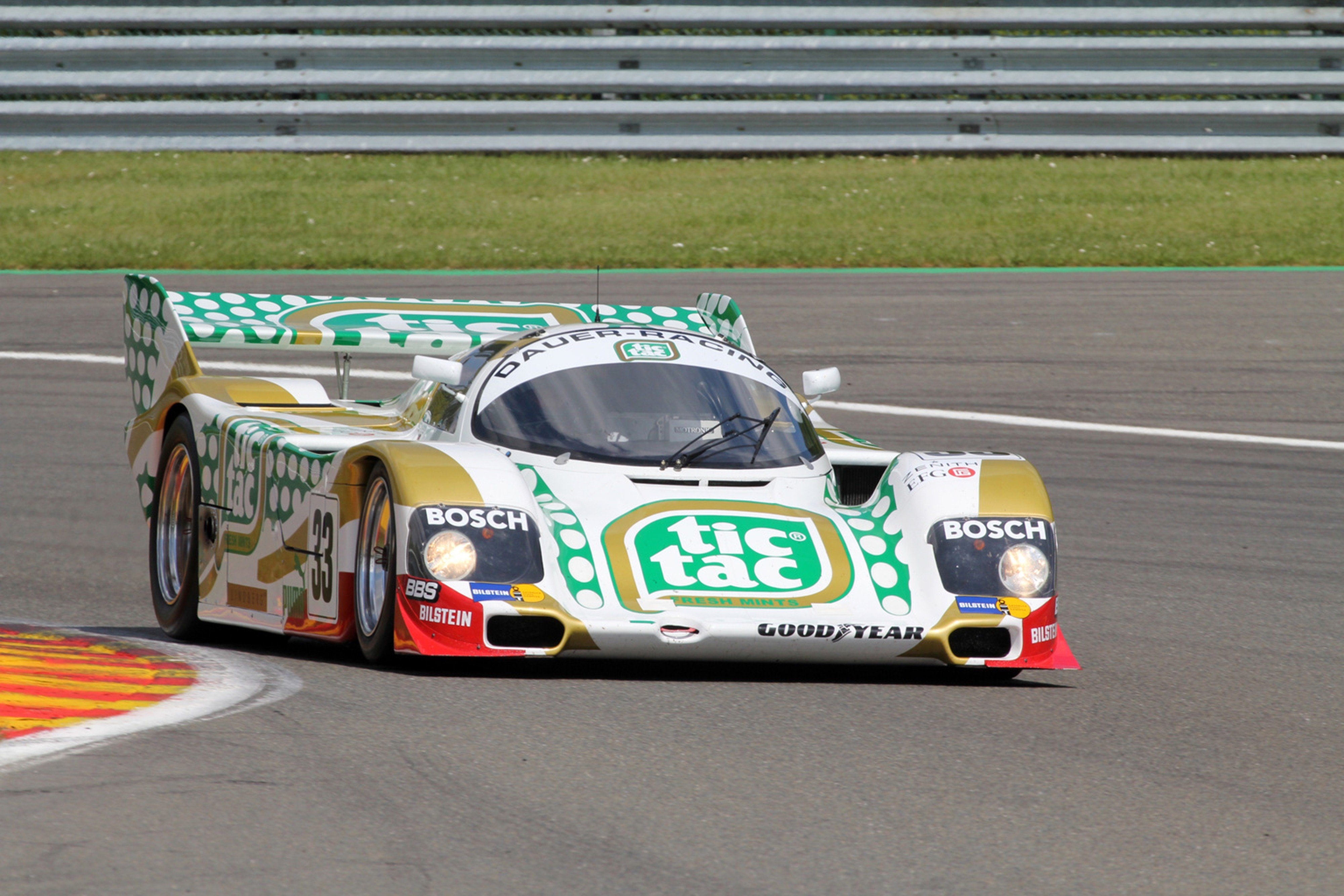 Race Car Racing Supercar Le Mans Germany 1990 Porsche 962c