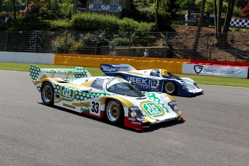 Race Car Racing Supercar Le-Mans Germany 1990 Porsche 962C 5 4000x2667 wallpaper
