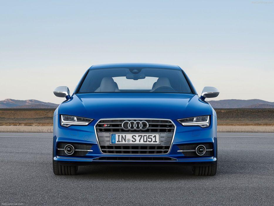 Audi S7-Sportback 2015 Car Germany Supercar Blue wallpaper 4000x3000 wallpaper