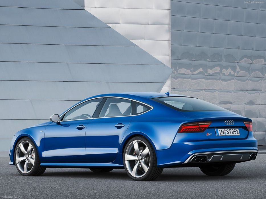 Audi S7-Sportback 2015 Car Germany Supercar Blue wallpaper 4000x3000 wallpaper