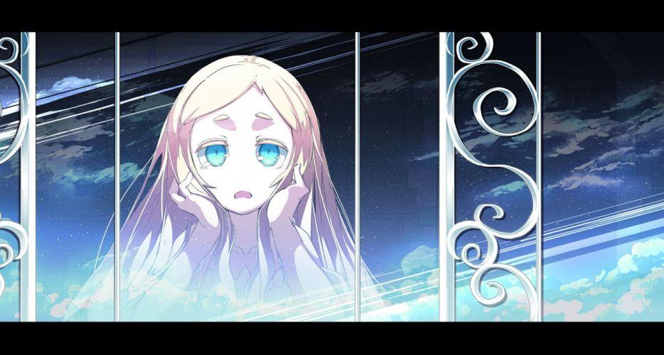 asakura masatoki blonde hair blue eyes original stars wallpaper