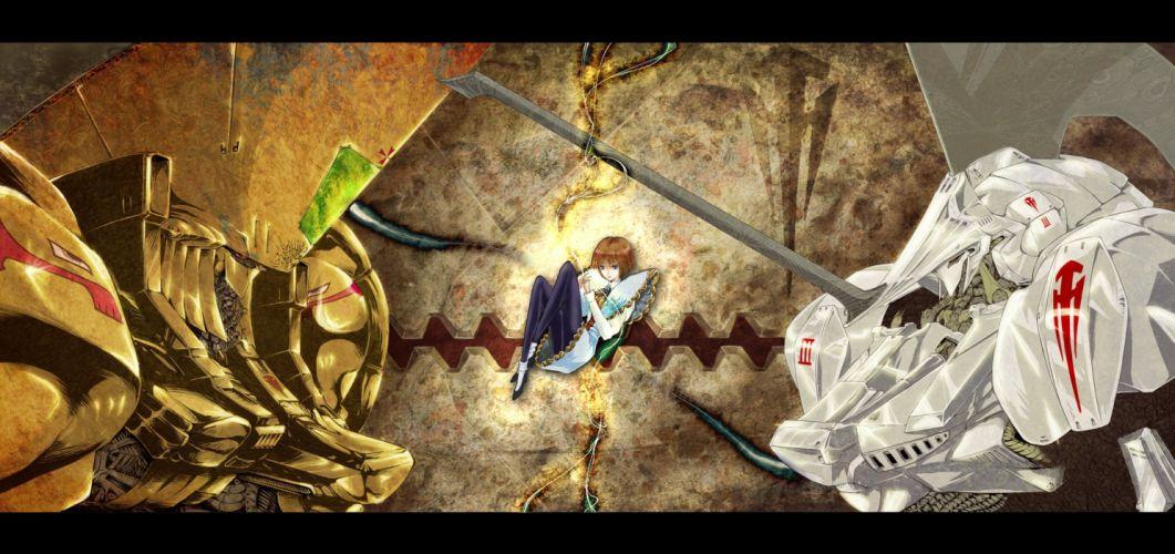 choco an five star stories lachesis (five star stories) mecha wallpaper