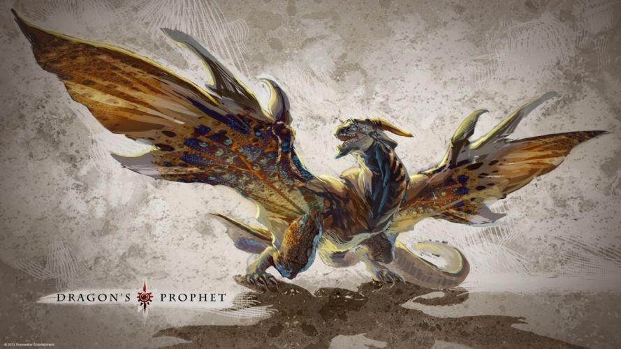 Dragon Dragon's Prophet Games Fantasy wallpaper