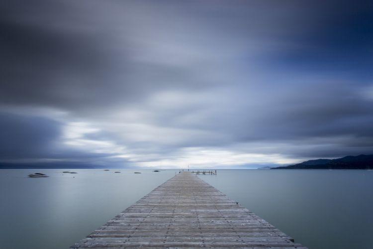 Lake Tahoe bridge usa sky blue wallpaper