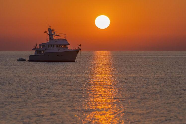 landscape ship sea sun sunny lane the Aegean Sea the beauty of the sunset wallpaper