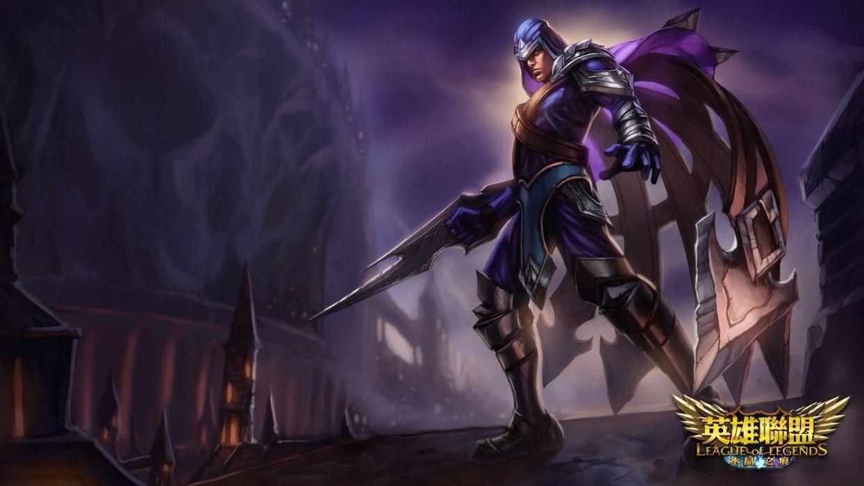 League of Legends Warrior Talon Games Fantasy wallpaper