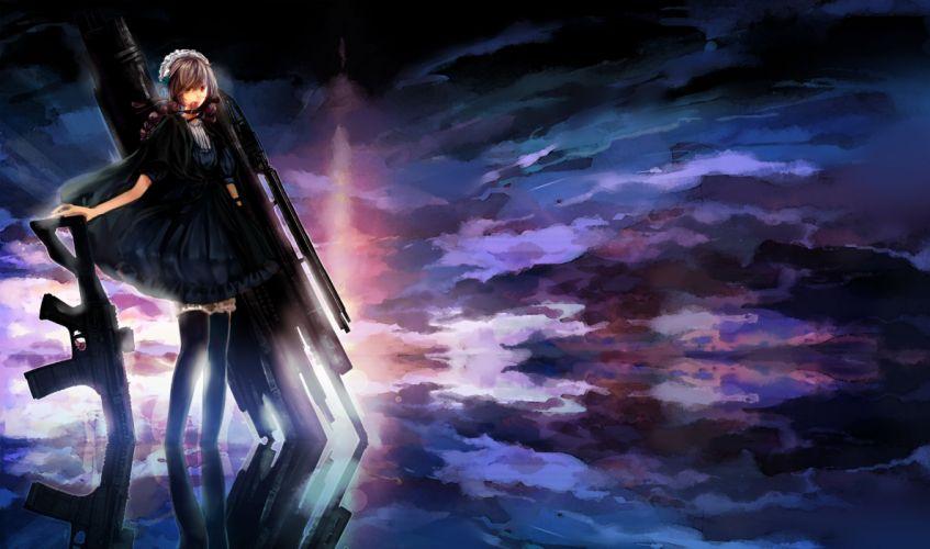 Pixiv Fantasia Anime Girls wallpaper