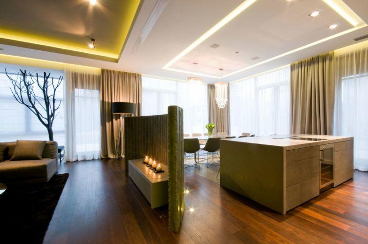 style living interior design apartment wallpaper