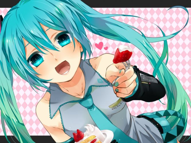 Vocaloid Hatsune Miku fh wallpaper