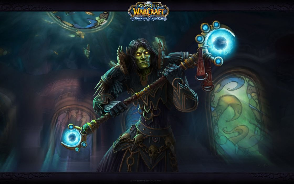 World Of Warcraft Wow Magic Warlock Mage Staff Games