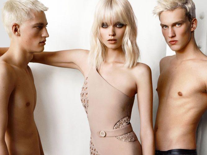 ABBEY LEE KERSHAW fashion model babe (31) wallpaper