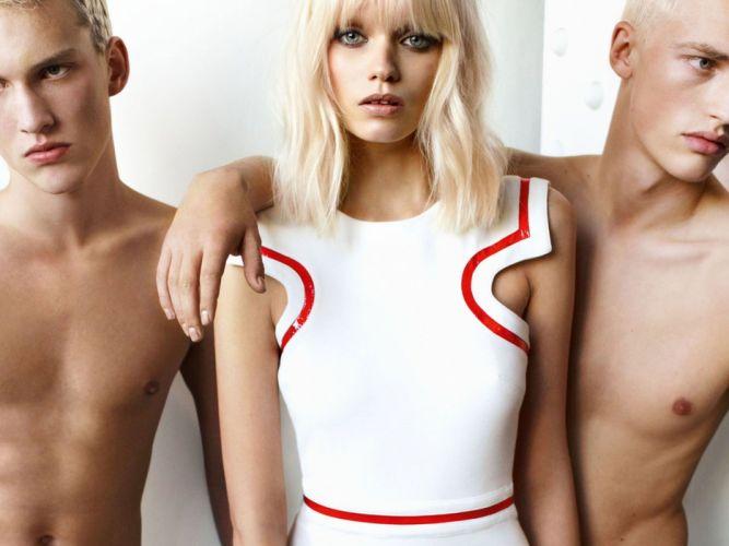 ABBEY LEE KERSHAW fashion model babe (41) wallpaper