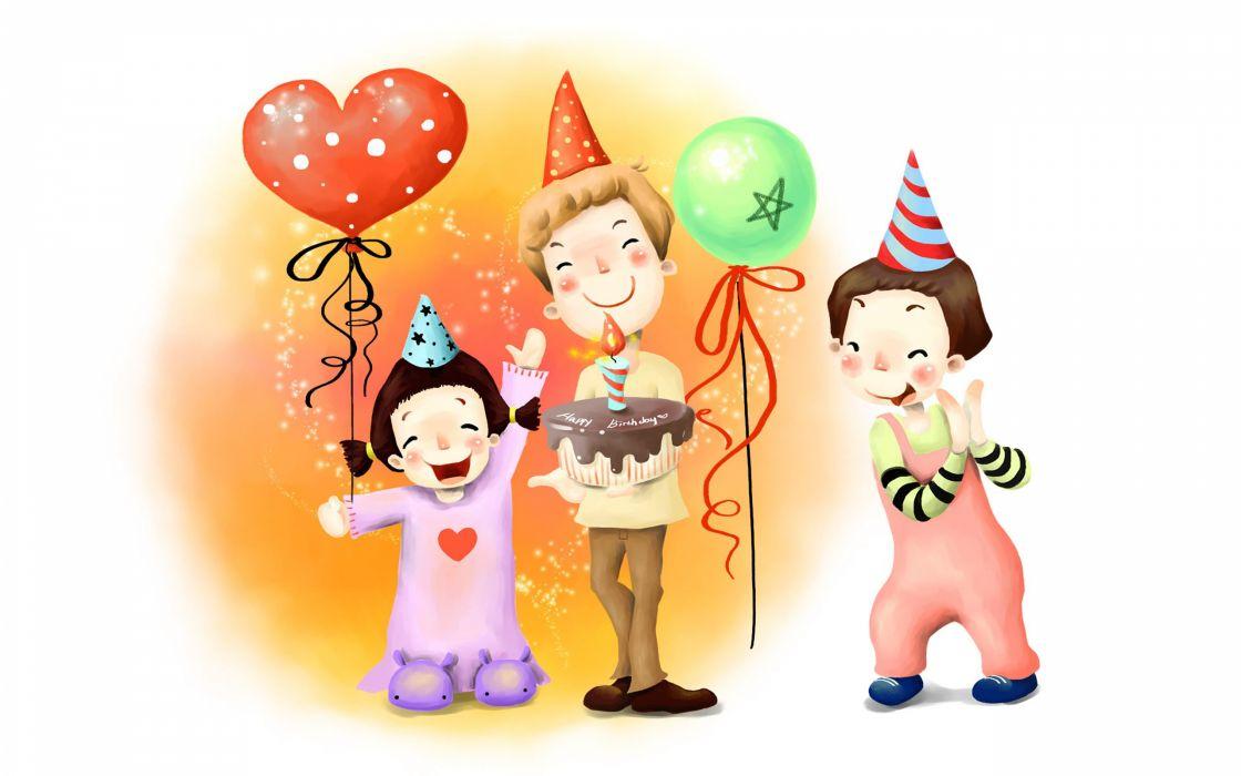BIRTHDAY holiday festive age (36) wallpaper