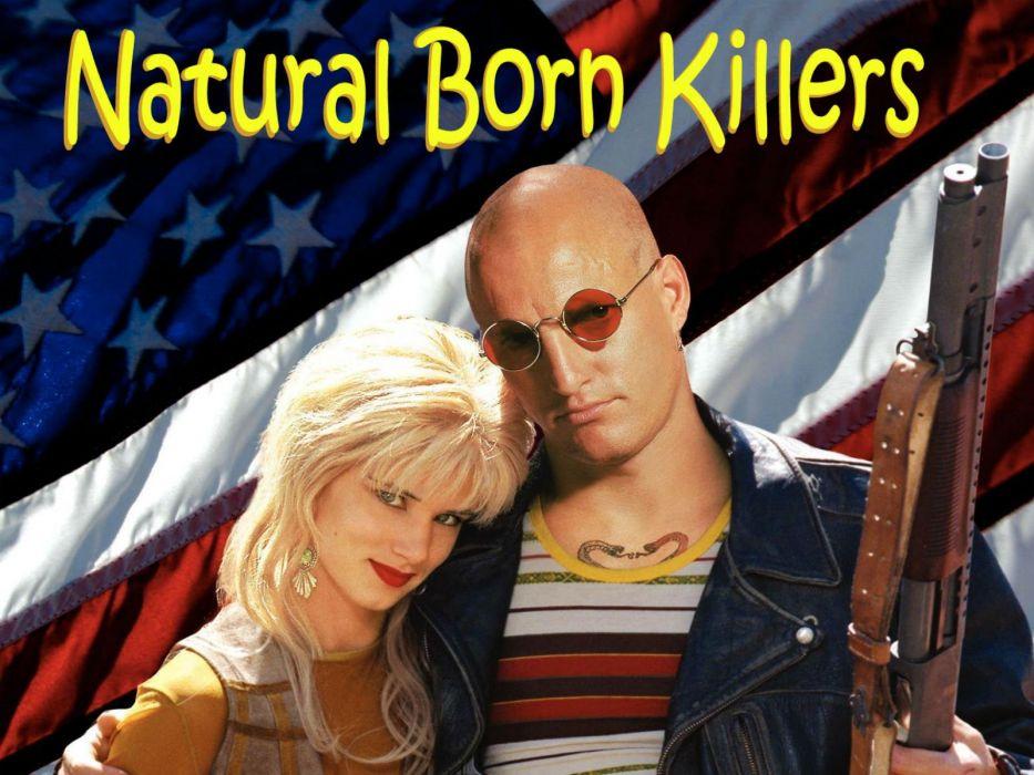 NATURAL BORN KILLERS crime drama horror dark film action (36) wallpaper
