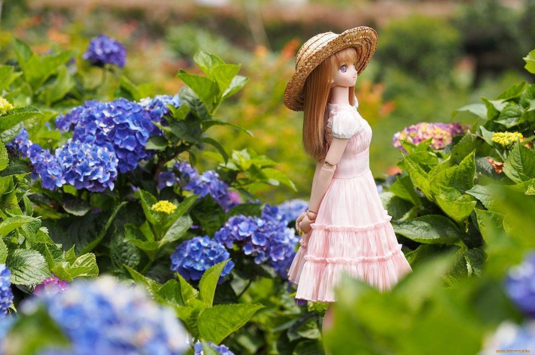 doll toy mood bokeh girl     g wallpaper